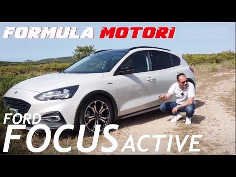Ford Focus Active test drive 2019