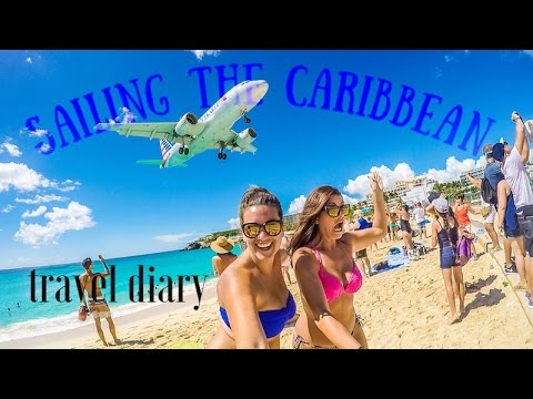 Sailing the Caribbean | travel diary | Southern Caribbean Cruise GoPro
