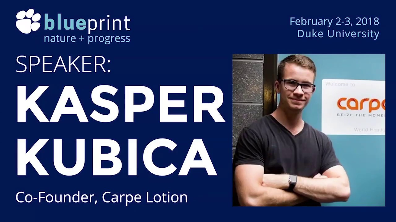 Carpe co founder kasper kubica how to pitch workshop at carpe co founder kasper kubica how to pitch workshop at blueprint 2018 full recording malvernweather Gallery