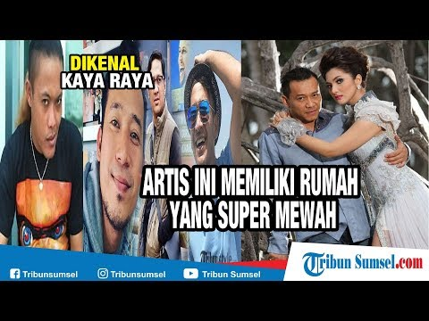 Dikenal Kaya Raya, Artis Indonesia Ini Miliki Rumah yang Super Mewah