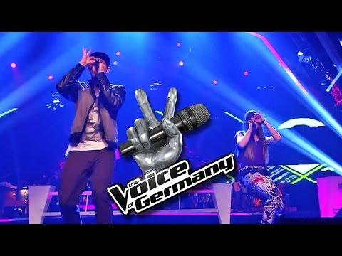 Thrift Shop - Blue MC vs. Alex Hartung | The Voice 2014 | Battle