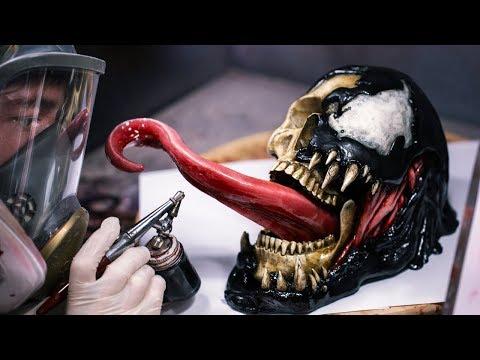 Painting Venom Sculpture - Jack Of The Dust
