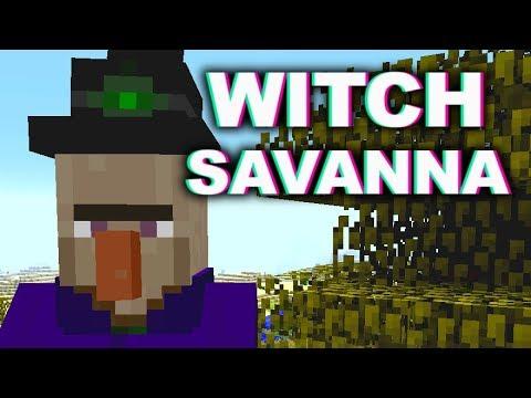 PewDiePie T-Series Diss Track Minecraft Parody feat. ReptileLegit (Witch Savanna)