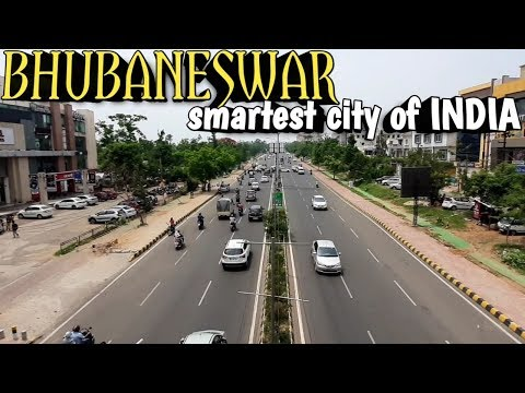 BHUBANESWAR ODISHA smartest city of INDIA | bhubaneswar city tour | city view of bhubaneswar