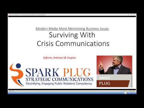 Handling Crisis Communication with Public Relations