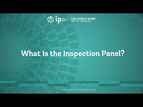What is the World Bank Inspection Panel?