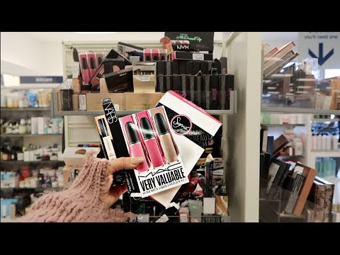 You WON'T Believe What I found at MARSHALLS MAKEUP DEALS!   Makeupbypita