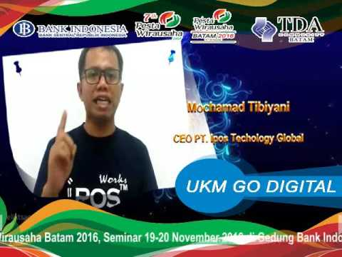 TDA Batam Heboh - M. Tibiyani PT. iPOS Technology Global