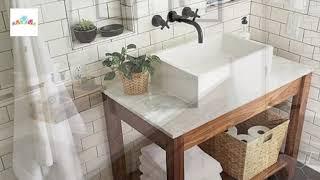 50 Best Farmhouse Bathroom Décor Ideas Part II