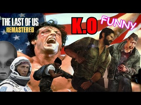 BEST FIST FIGHT EVER! THE LAST OF US! (Funny moments, Glitches, and ALIENS!?!?!?)