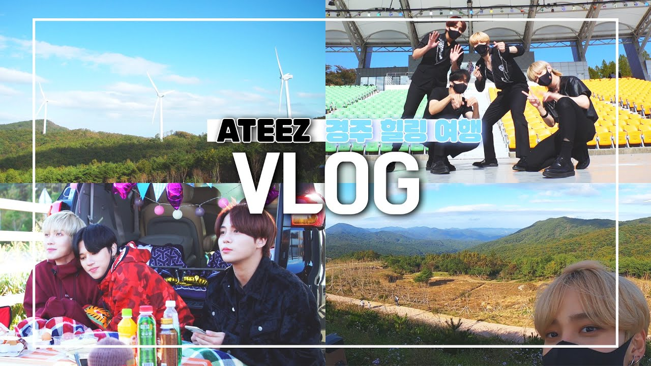 [아시아송페스티벌 스타데이트] ⭐감성 충만 ATEEZ와 함께하는 대자연 힐링 여행 VLOG⭐