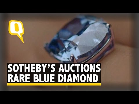 Hong Kong Tycoon Grabs $48.5Mn Diamond for Daughter at Sotheby's Auction