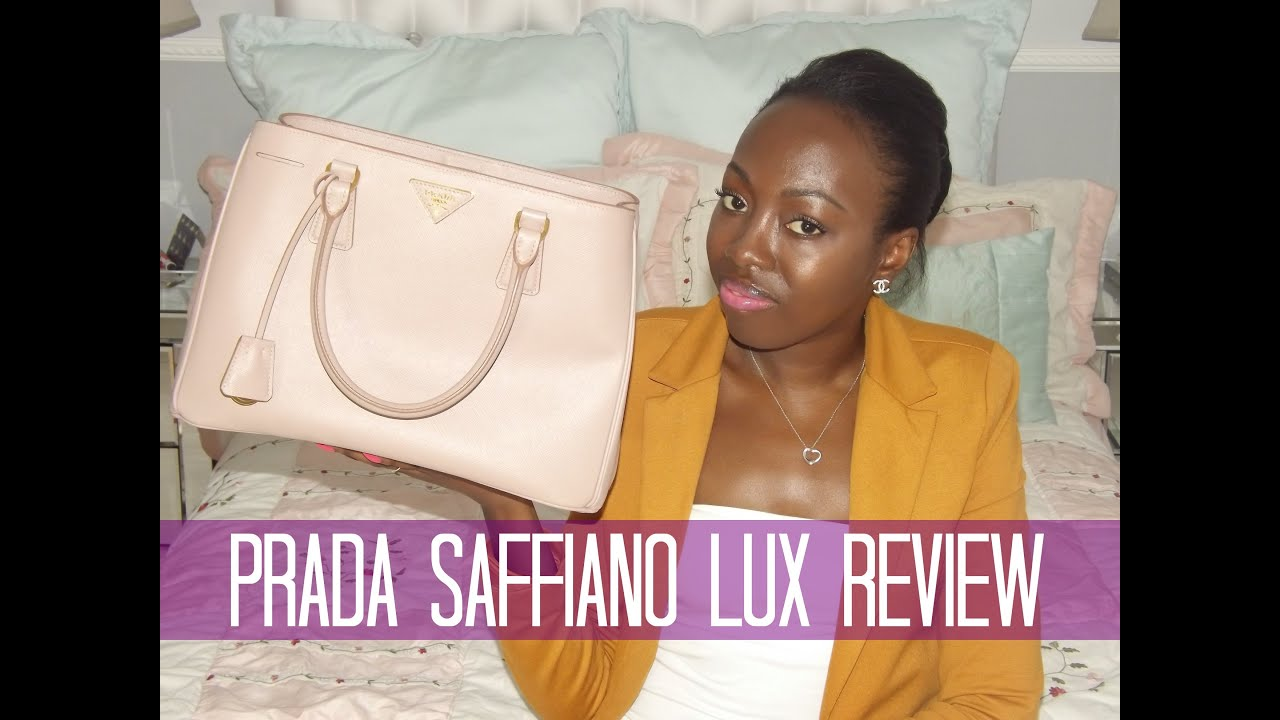 7f66c89ca0e4 ... amazon prada saffiano lux tote review youtube 74950 88e56 ...
