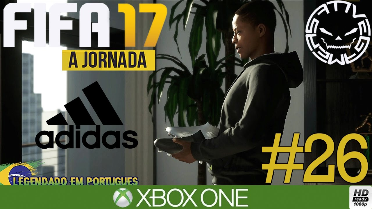 1f4a12e3a9b FIFA 17 MODO HISTÓRIA  26 CONSEGUIMOS UM PATROCÍNIO DA ADIDAS  (Português-BR)