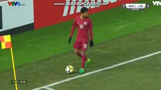 U23 Việt Nam với u23 Quatar
