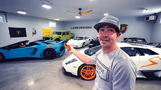 MEET RYAN WHO DAILY DRIVES 5 RARE V12 LAMBORGHINIS!