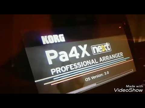 Korg Namm Pa4x