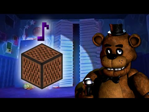 Five Nights At Freddy's 4 I Got No Time - Minecraft Note Block Cover (The Living Tombstone Song)