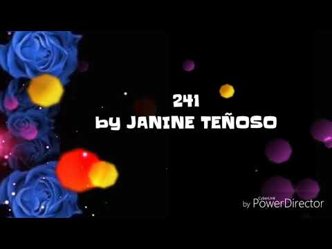 241 - by JANINE TEÑOSO