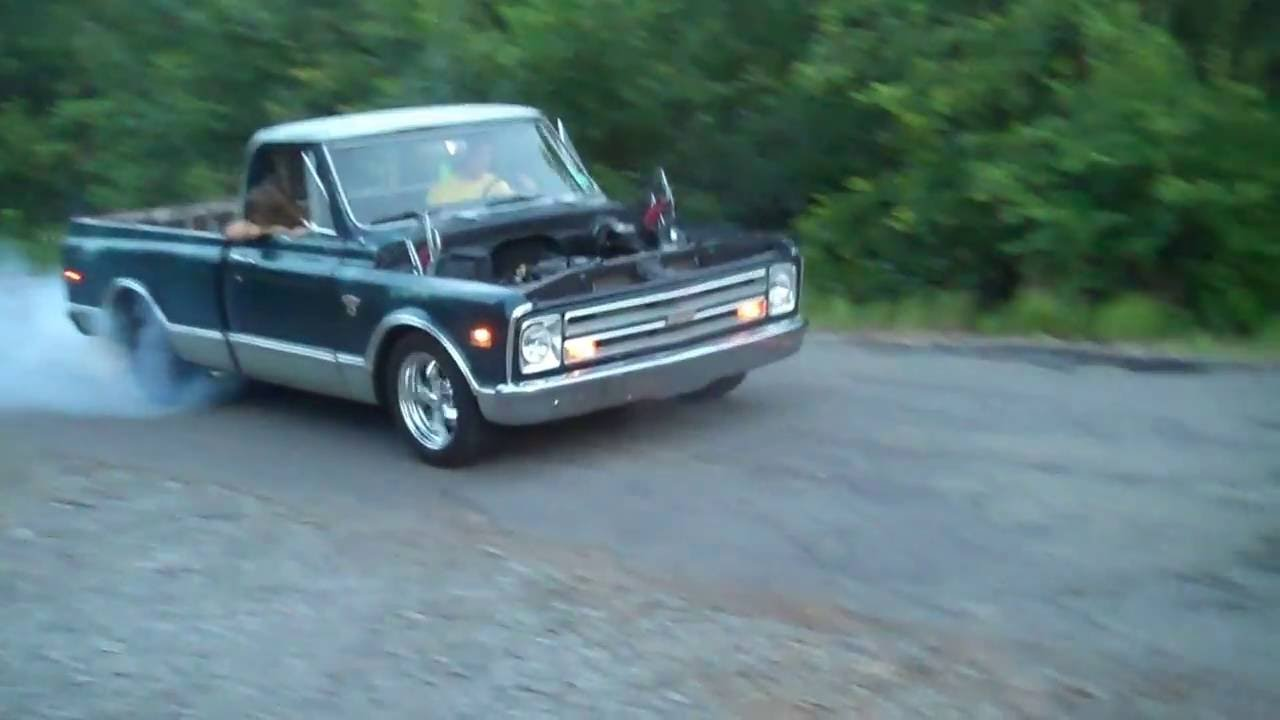 Truck 1968 chevrolet truck parts : LS1 Burnout 1968 chevy truck C/10 - YouTube