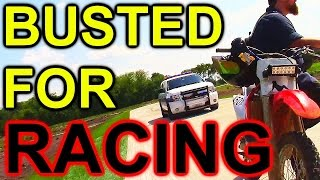 Busted By the COPS Illegal Street Racing