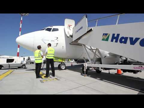 airBaltic Boeing 737 external check by our pilots (part 1 of 6 - Introduction)