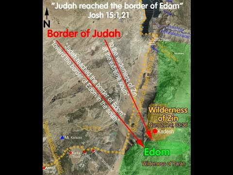 EDOM, MOAB, THE BORDERS, GET OUT OF BABYLON PT2