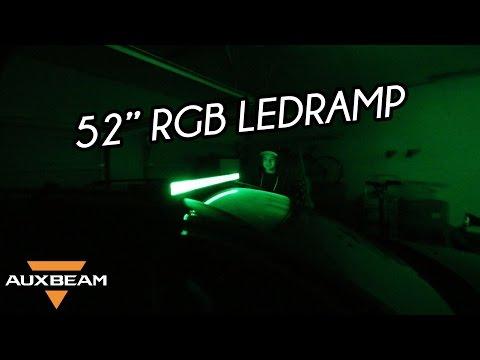 "Auxbeam V-Series 52"" Ledramp Installation | VLOGG #129"