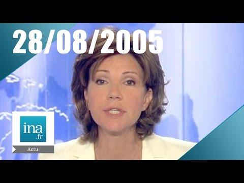 20h France 2 du 28 août 2005 - L'ouragan Katrina | Archive INA