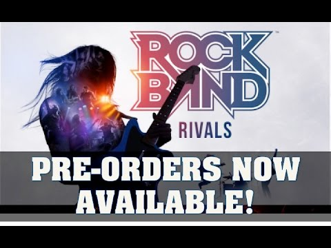Rock Band Rivals Pre Orders Now Available