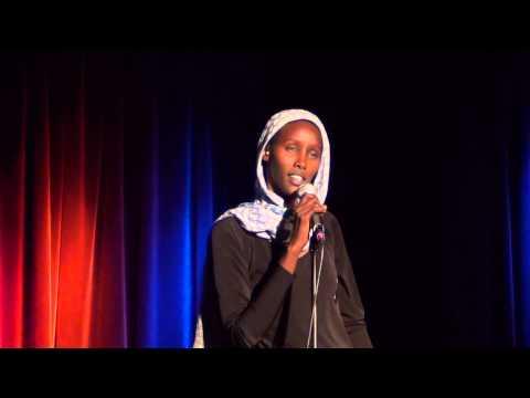 Fatuma from Somalia speaks... Bahnhof-Langendreer (Bochum, 15.08.2014)