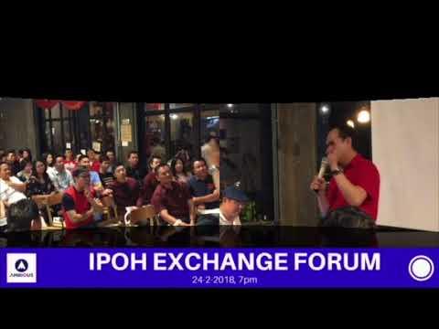 Dato Dr SK Tham (Alps Holding Berhad) - Ipoh Exchange Forum 2018  (360p)