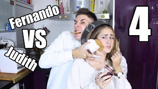 FERNANDO VS JUDITH: CHEESECAKE | Hermanos Jaso