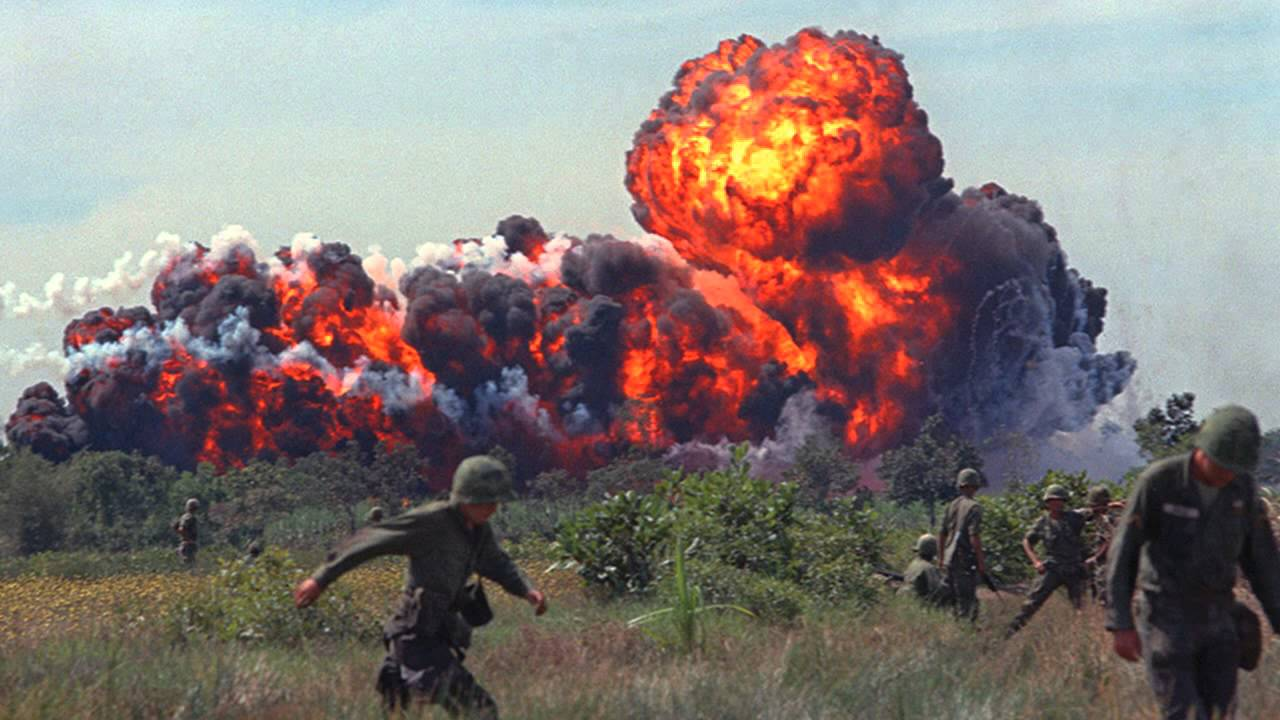 vietnam napalm bombing In june 1972, nick ut took iconic photos of a napalm attack that injured young vietnamese children, including 9-year-old kim phuc.