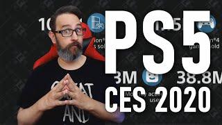 Esto es todo lo que vimos de PS5 en el CES 2020