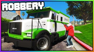 GTA 5 Roleplay - ROBBING MONEY TRUCK | RedlineRP