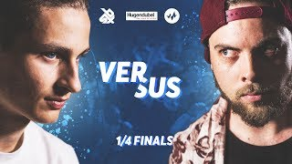 FOOTBOXG vs FREDY BEATS | Vocal Masters 2018 | 1/4 Final