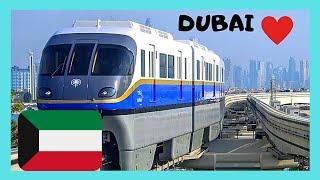 Exploring Dubai: Riding The Ultra Modern Palm Jumeirah Monorail, United Arab Emirates