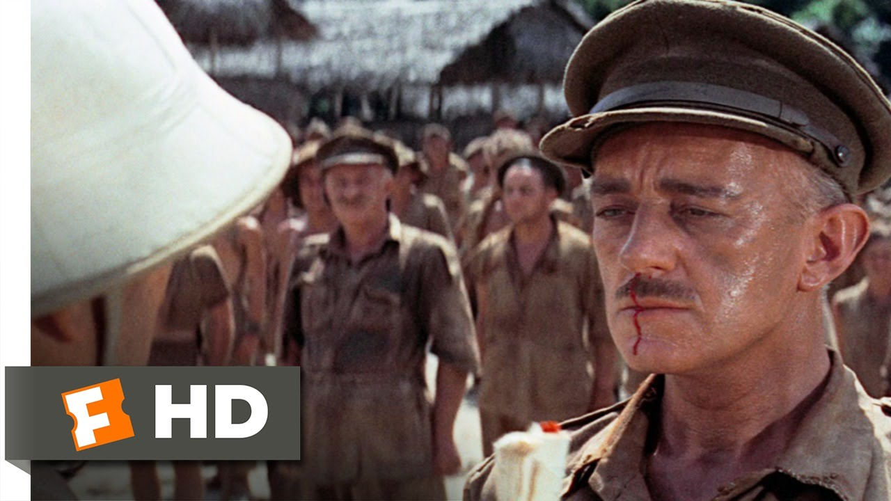 The Bridge On The River Kwai 1 8 Movie Clip The Coward S Code 1957 Hd Youtube