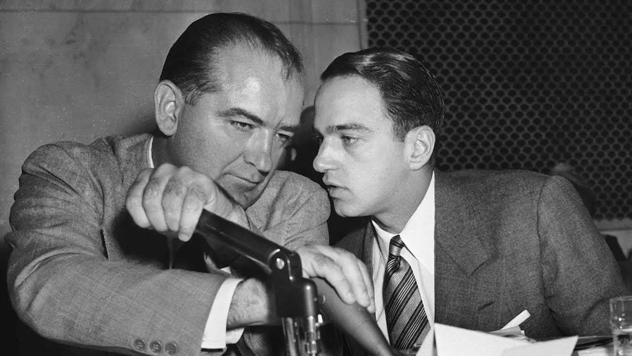 """Where's My Roy Cohn?"": Film Explores How Joseph McCarthy's Ex-Aide Mentored Trump & Roger Stone"