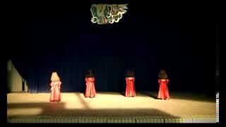 ВОСТОЧНЫЕ ТАНЦЫ Испанский танец - Me Voy (я ухожу) студии танца РАКАССА Днепропетровск