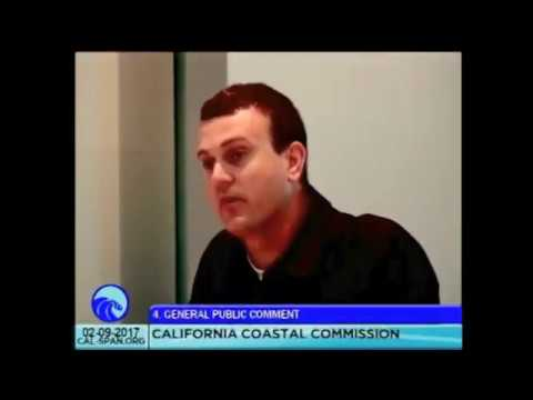 California Coastal Commission Speaking on behalf or Rescue Our Waterfront
