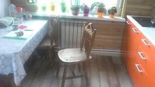 видео Дом из бруса 6х9 с открытым балконом