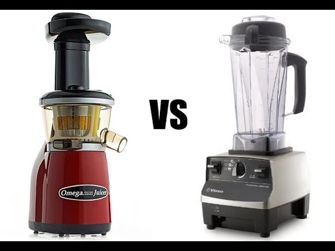 Juicing vs Blending! Which is better? LIVE DEMO