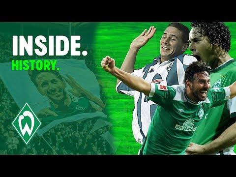 Claudio Pizarro Party nach Rekordtor | WERDER.TV Inside nach Hertha BSC