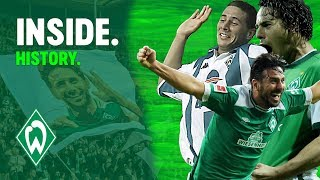 Claudio Pizarro Party nach Rekordtor | WERDER.TV Inside nach Hertha BSC