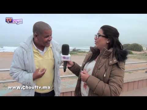 الموت ديال الضحك مع مواطن مغربي فكورنيش عين الذئاب