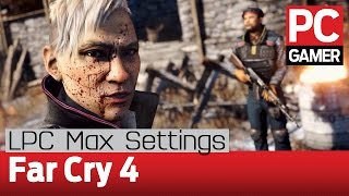 Far Cry 4 PC gameplay: max settings at 60 fps on the LPC