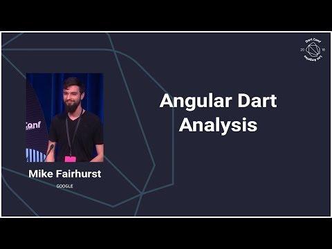 Angular Dart Analysis (Dart Conference 2018)