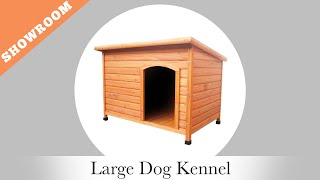 Oypla Tv Presents Large Outdoor Dog Kennel